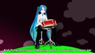 "Vocaloid Miku Hatsune sings Matching Moles' ""O Caroline""."