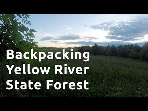 Backpacking Yellow River State Forest