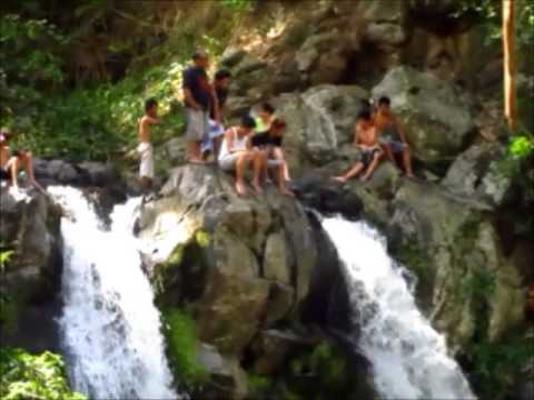 twin falls aka bunga falls nagcarlan laguna  june 1 2014
