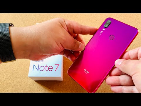 Redmi Note 7 Initial Review - Budget Phone Beauty!