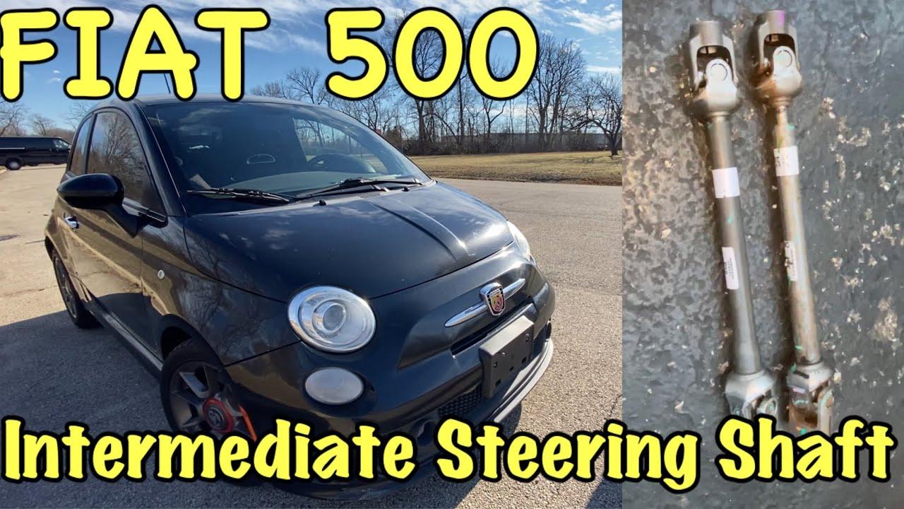 Fiat 500 Intermediate Steering Shaft Replacement
