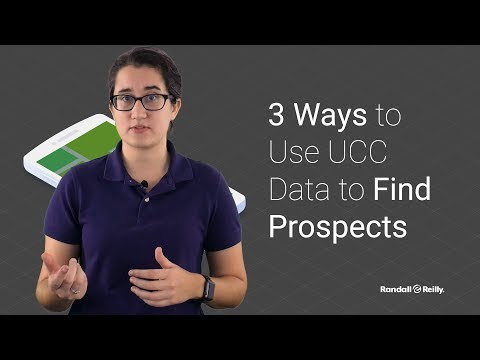 3 Ways To Use UCC Data To Find Prospects