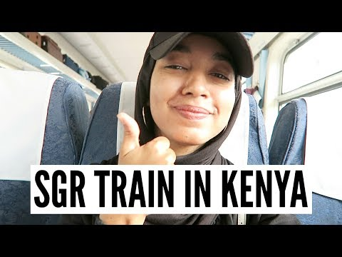 SGR | MADARAKA EXPRESS TRAIN FROM MOMBASA TO NAIROBI