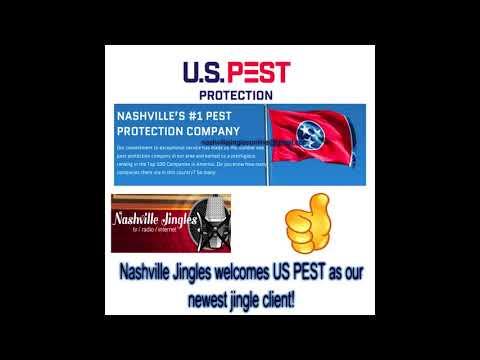 NASHVILLE JINGLES U.S. PEST pest control jingle