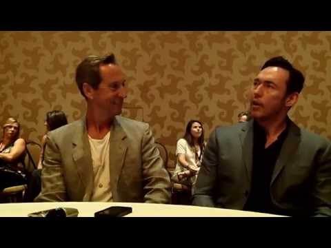 With Jonathan Hyde & Kevin Durand of FX's The Strain at ComicCon 2014
