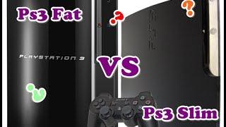 PS3 Fat VS PS3 Slim (comparativa)
