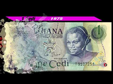 See how Ghanaian Currencies Transformed since 1958 to date