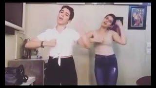 Dangal girls | Fatima shaikh & Sanya Malhotra Dancing on the beats of sia's Cheap Thrills