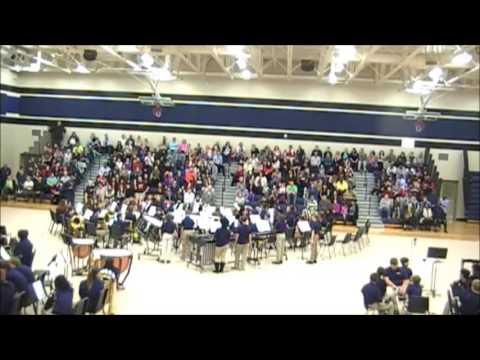 Carolina Springs Middle School 6th Grade Band, Fall Concert 2016 ...