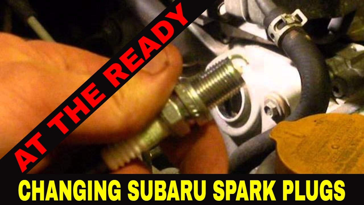 Diy Changing Spark Plugssubaru By At The Ready Youtube Subaru Ej20 Wiring Diagram