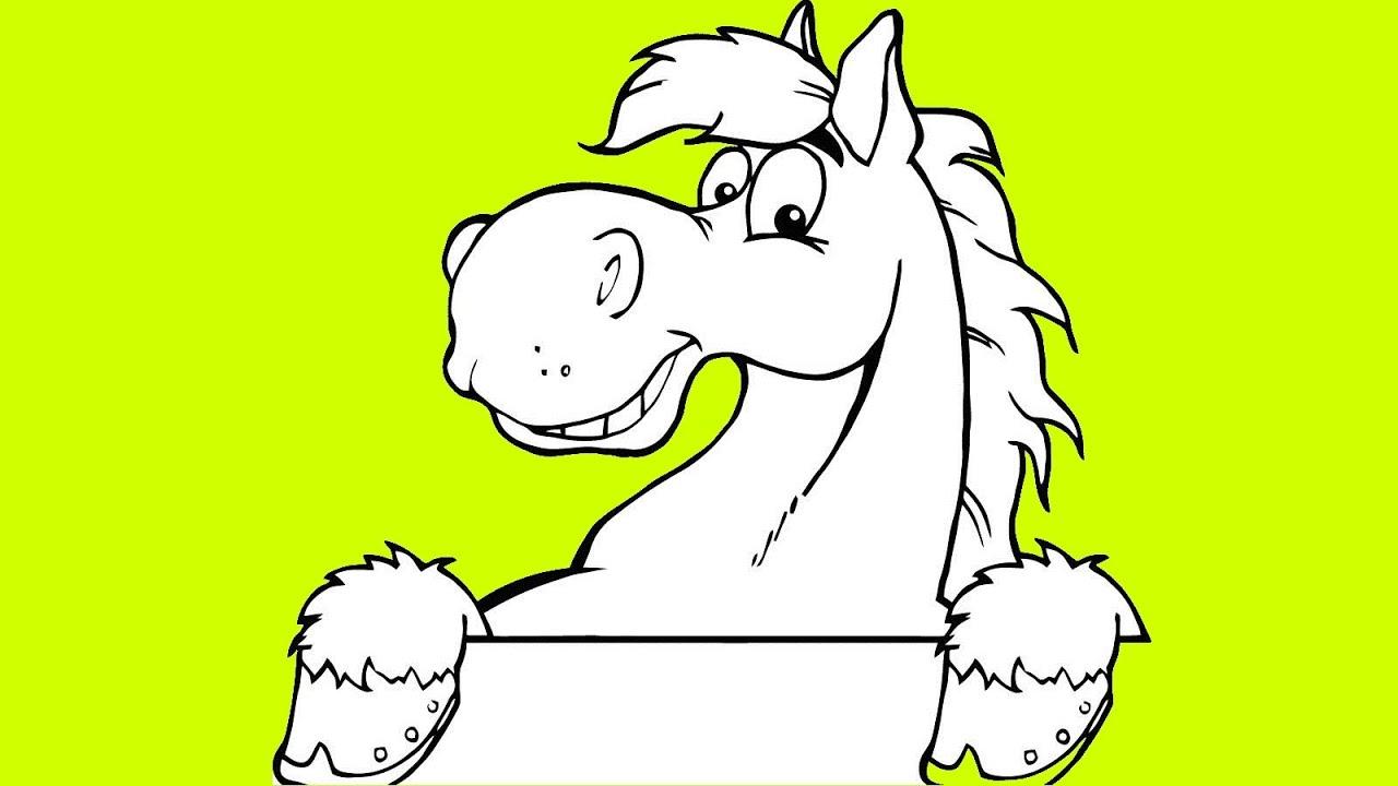 Dancing Horses Drawing The Tap Dancing Horse