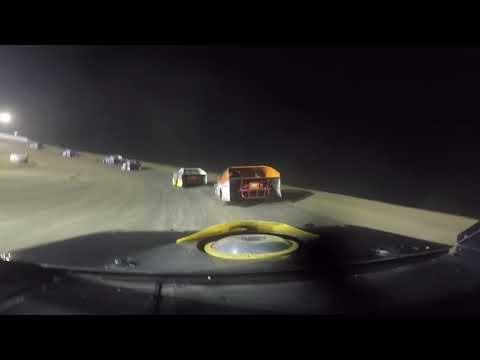 CJ KINNEER 99 go pro at Muskingum Speedway 7-3-18 age 14