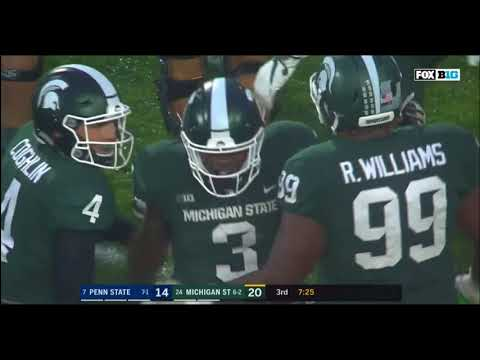 11/4/2017  Michigan State 27  Penn State 24