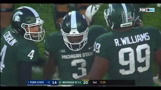 11/4/2017  Michigan State 27  Penn State 24