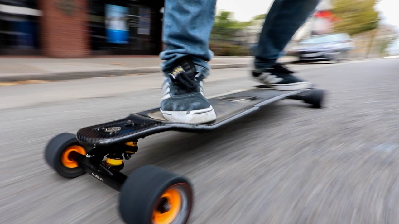 THE BEST ELECTRIC SKATEBOARD EVER  YouTube