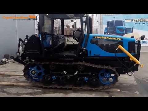 Купить Трактор ДТ-75 С4 нового образца - СтройСельМаш.рф