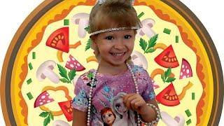 Аня готовить пиццу!!!