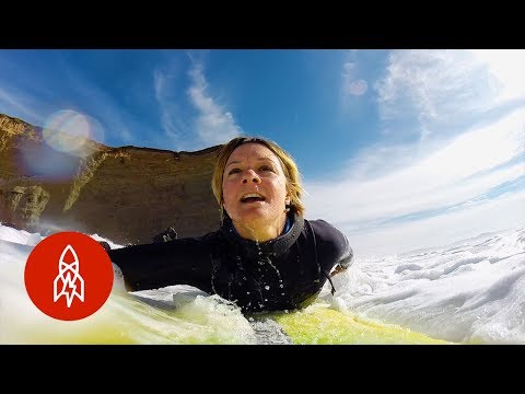 Meet the Woman Taking On The World's Biggest Waves