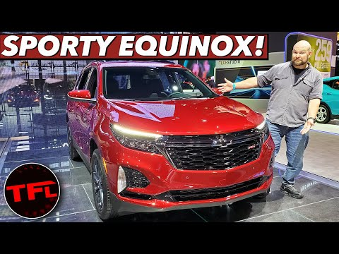 The 2021 Chevrolet Equinox Is A Racy-Looking Version Of GM's Best-Selling Crossover!