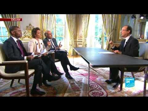 Entretien exclusif de François Hollande avec FRANCE 24