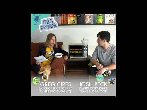 Josh Peck on TALK CEREAL with Greg Cipes