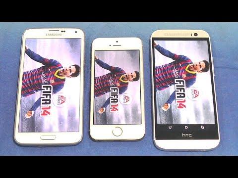Htc one m8 vs galaxy s5 vs iphone 5s