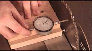 How To Capture Table Saw Blade Angles