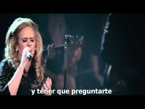Adele - One And only  (Live at the Royal Albert Hall ) Subtitulado Español