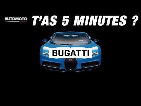 L'incroyable histoire de la marque française Bugatti  - T'as 5 minutes - Mission GDB