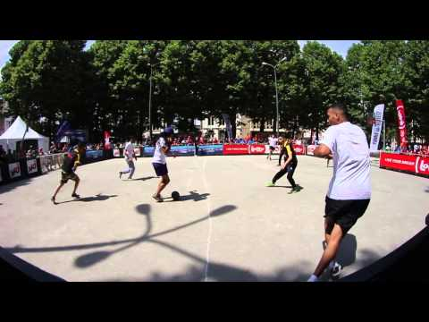European street soccer 4vs4 Championship: Belgium vs The Netherlands