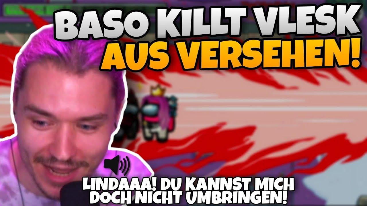 Baso KILLT AUS VERSEHEN ihren LOVER VLESK! | Among Us Highlights