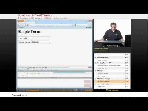 PHP - Error Handling from YouTube · High Definition · Duration:  6 minutes 59 seconds  · 2.000+ views · uploaded on 17.08.2011 · uploaded by Educator.com
