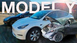 Model Y Полный Обзор и Частичный Разбор/Сравнение с Tesla 3, Автопилот FSD
