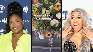 Lizzo Sends Cardi B the SWEETEST Gift Amid Divorce from Offset