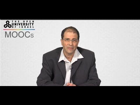 MOOCs offered by the Open University of Israel