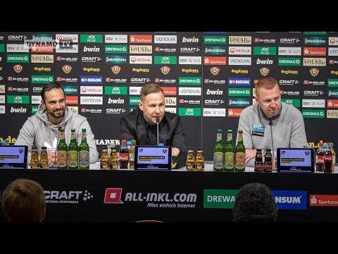 14. Spieltag   SGD - FCI   Pressekonfernez nach dem Spiel