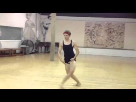 Michael Valley Demonstration at Debbie Reynolds Dance Studio