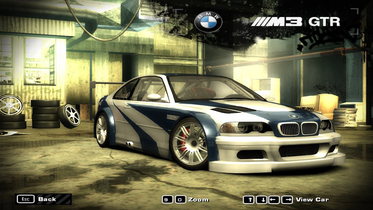 bmw m3 gtr e46 sprint race need for speed most wanted. Black Bedroom Furniture Sets. Home Design Ideas
