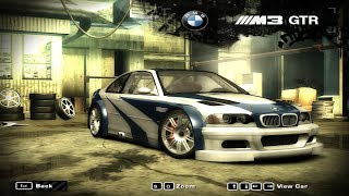 BMW M3 GTR E46 - Sprint Race - Need for Speed Most Wanted 2005