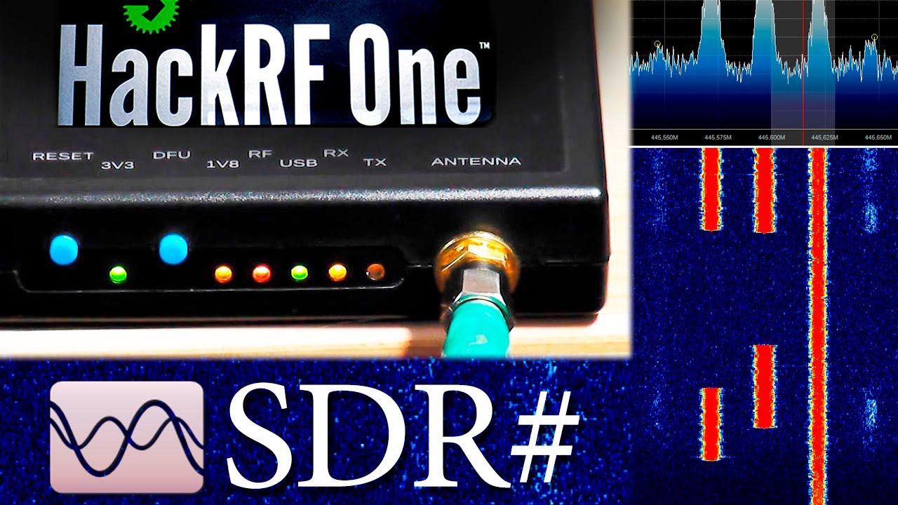 HackRF One + SDRSharp настройка и описание программы