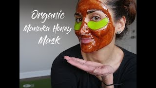 Organic Face Mask MANUKA HONEY CINNAMON & LEMON