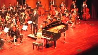 Pianista Margarida Prates - Concerto para Piano e Orquestra nr. 23 de Mozart (1ª Parte)