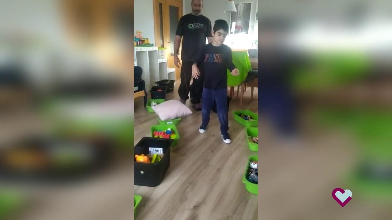 Fisioterapia infantil - Actividades para mantener la forma en casa