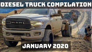 DIESEL TRUCK COMPILATION | JANUARY 2020