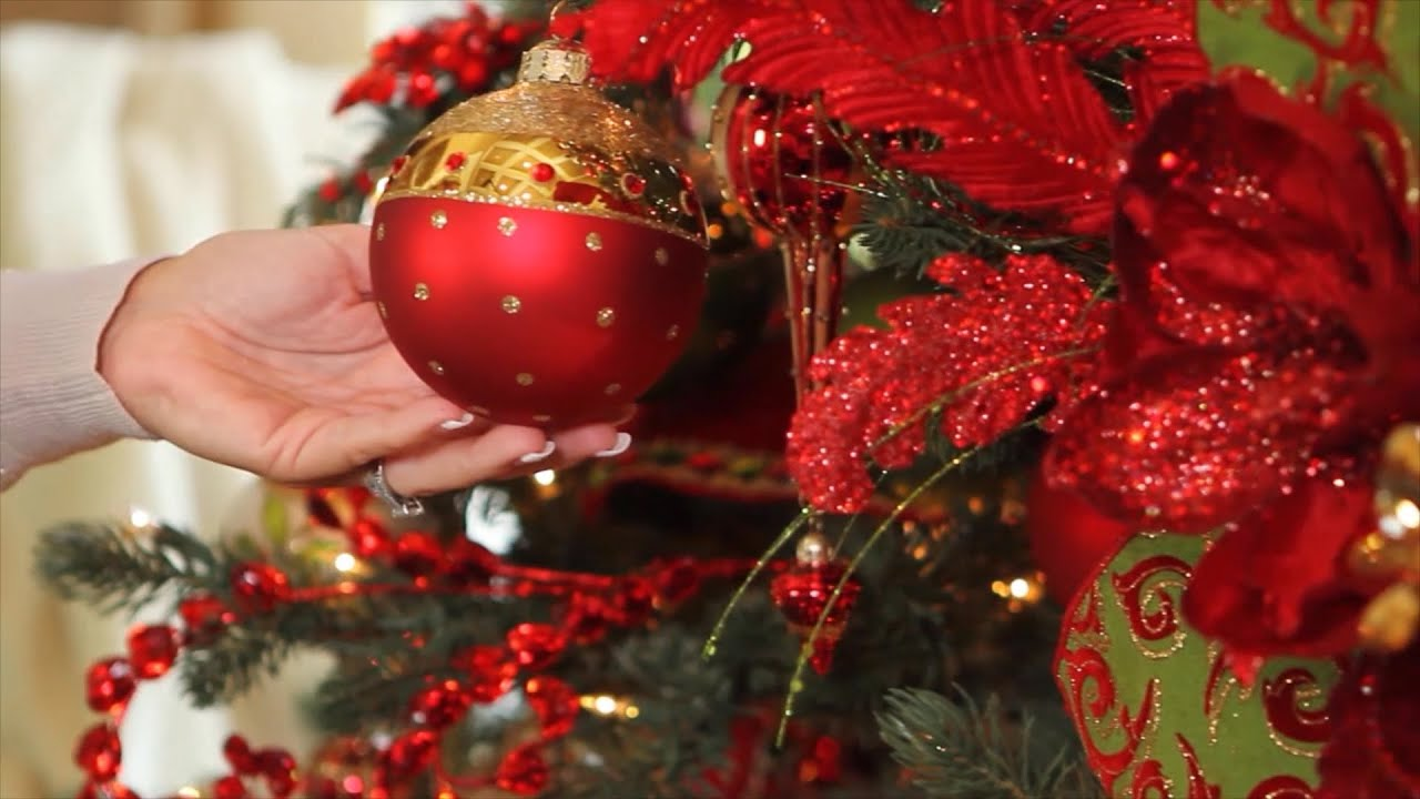 how to decorate your christmas tree video youtube - Christmas Decoration Video