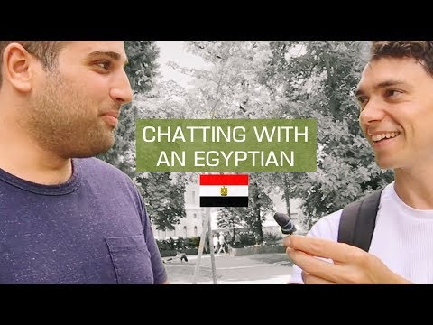Chatting With An EGYPTIAN [Uncut]