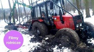 Półroczny MTZ Belarus 820 przy ciężkiej pracy