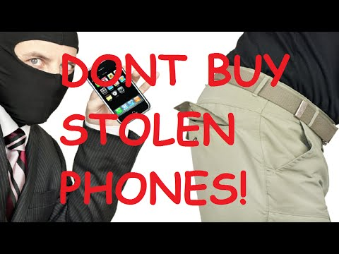 How to check if a phone has been reported LOST OR STOLEN or if it is iCloud LOCKED!