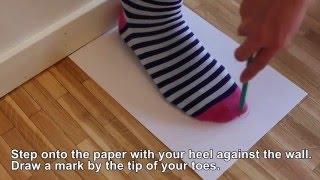 видео Таблица размеров обуви мальчиков по возрасту и длине стопы.