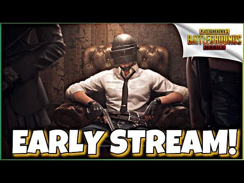 EARLY STREAM  VIEWERS SQUADS! | PUBG MOBILE!